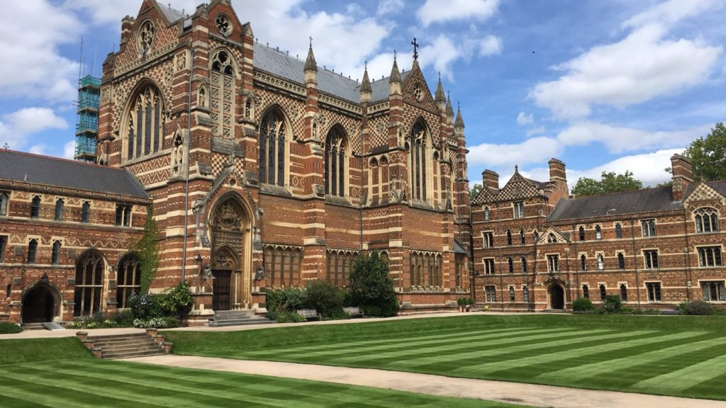 Keble College quad, Oxford